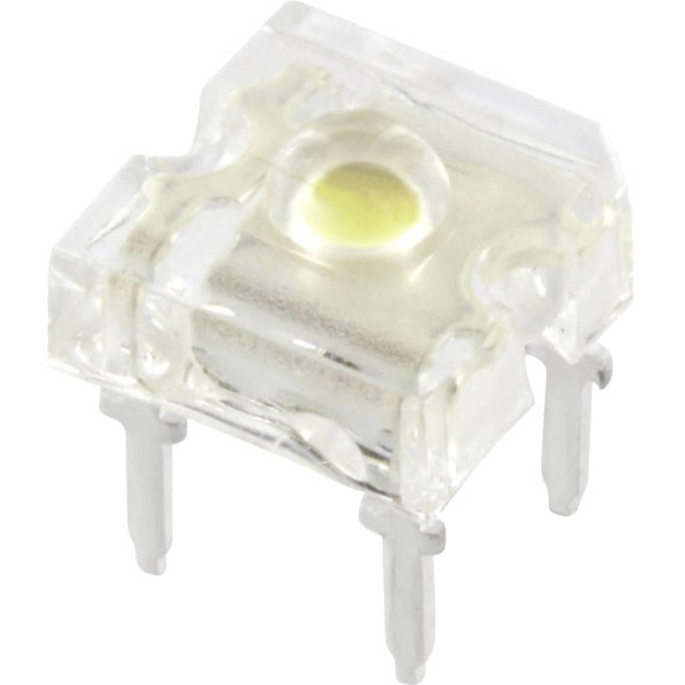 Ožičena LED dioda, zelene barve okrogla 3 mm 2500 mcd 120 ° 20 mA TRU Components 9355G3C-HSA-A