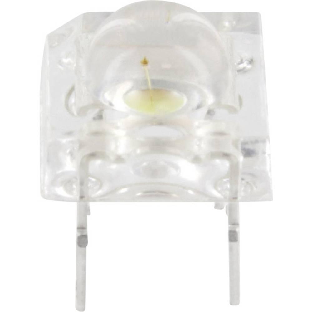 Ožičena LED dioda, zelene barve okrogla 5 mm 2500 mcd 100 ° 20 mA TRU Components 9555G3C-HSA-A