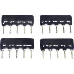 debeloslojni otpor 3.3 kΩ tht sip-8 0.125 W TANCAP SIP-B08-332G 1 St.