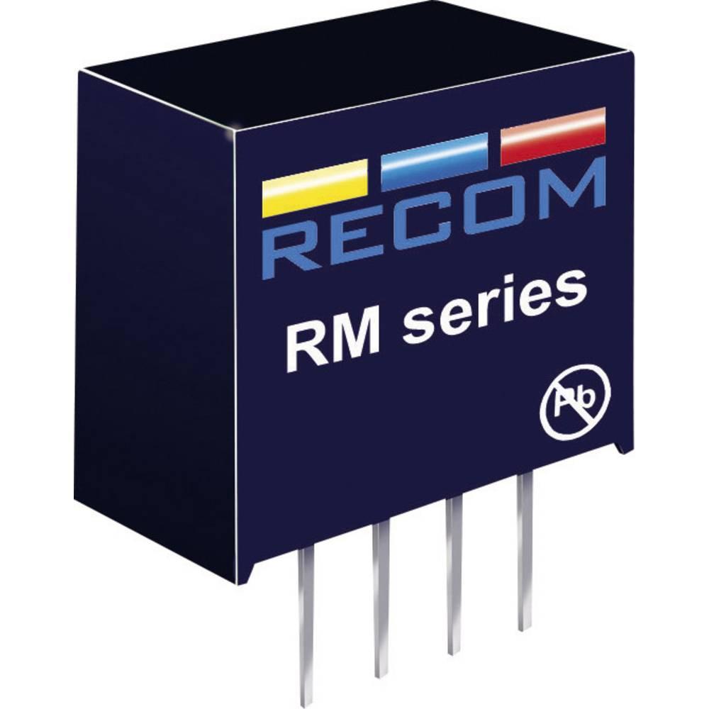 DC/DC pretvornik za tiskano vezje RECOM RM-0512S 5 V/DC 12 V/DC 21 mA 0.25 W št. izhodov: 1 x