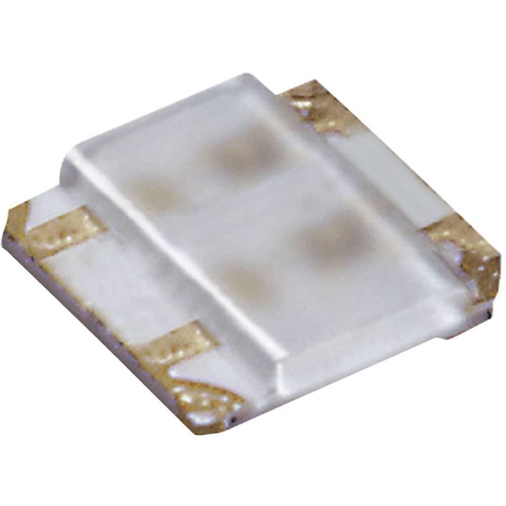 SMD LED flerfarvet ROHM Semiconductor 0404 21 mcd, 52 mcd 50 ° Grøn, Rød