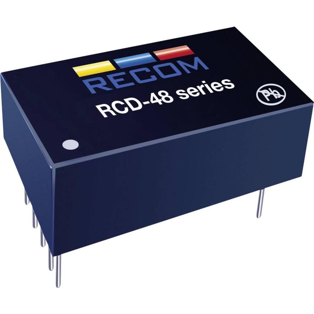 LED gonilnik 350 mA 56 V/DC analogna zatemnitev, PWM zatemnitev Recom Lighting RCD-48-0.35 delovna napetost maks.: 60 V/DC