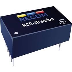 LED-driver 350 mA 56 V/DC Analog dæmpning, PWM-dæmpning Recom Lighting RCD-48-0.35 Driftsspænding maks.: 60 V/DC