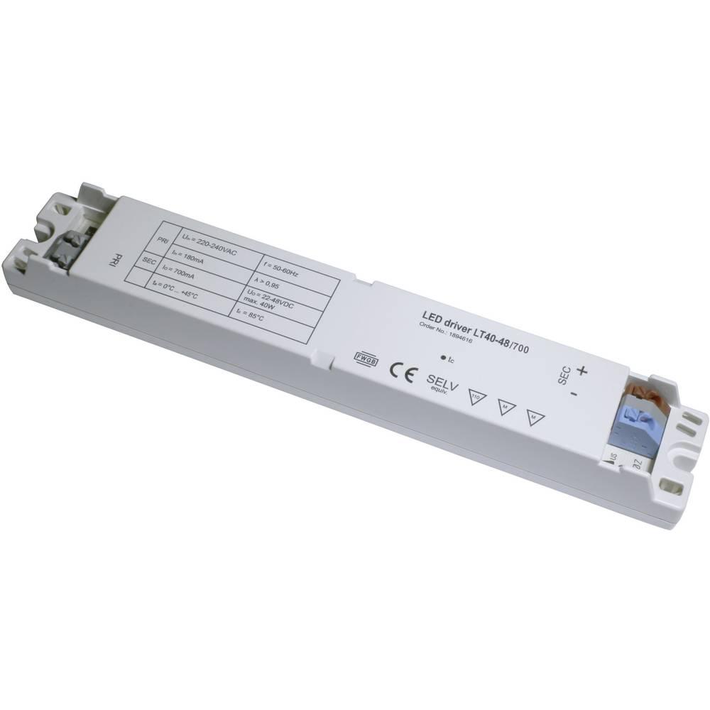 LED-napajalnik LT40-48/700, izh. tok: (22-47 V/DC) 700 mA, obr. n.: (+10 %) 220-240 V/AC