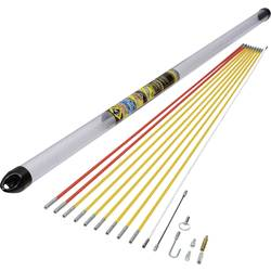 MightyRod PRO kabeldragstänger-set 10 m standard C.K. MightyRod PRO 7 mm 10 m 1 set