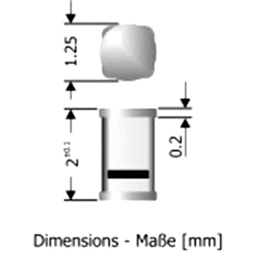 Hitra preklopna dioda Diotec MCL4148 SOD-80C 75 V 150 mA