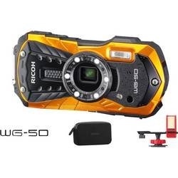 Ricoh WG-50 Akcijska kamera Otporan na smrzavanje, Full HD, Vodootporan, Otporan na udarce, Unutarnja memorija, Zaštiten od praš