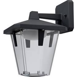 LED vanjska zidna svjetiljka 10 W toplo bijela OSRAM Endura® Style klasična lanterna 4058075032378 tamno sive boje