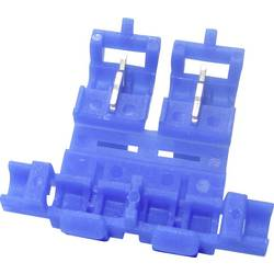 Spojnica za grananje žica, fleksibilna: - kruta: - broj polova: 2 TRU Components 1583030 1 kom. plave boje