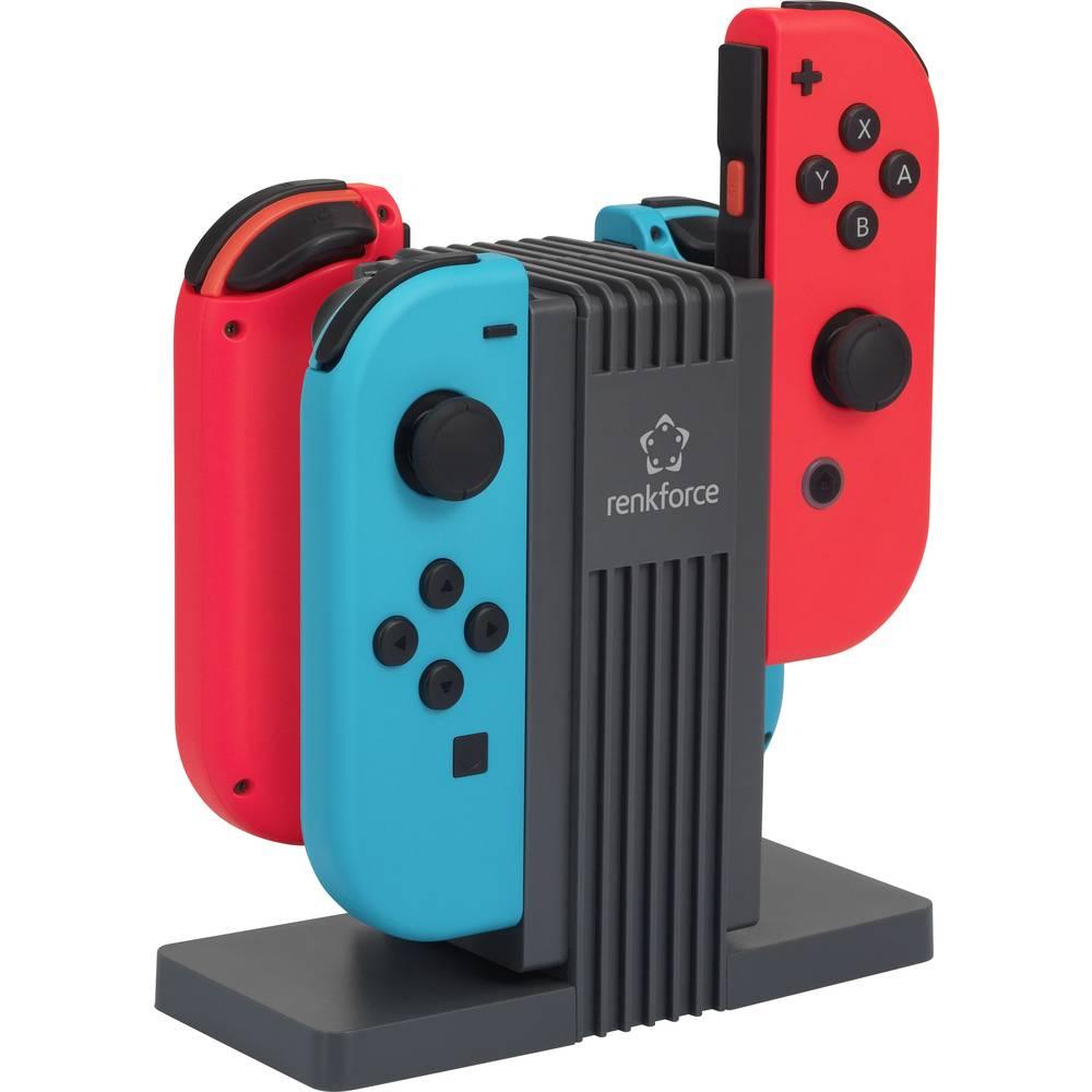 Polnilna postaja za krmilnik Nintendo® Switch Renkforce RL-LSN-400