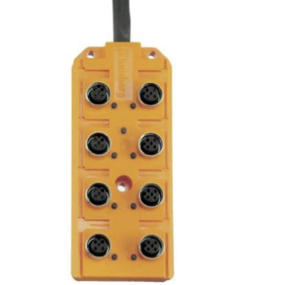 Sensor/aktorbox passiv M12-fordeler med metalgevind ASB 8/LED 5-4-331/5 M 60603 Lumberg Automation 1 stk