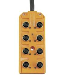 AKTUATORSKO-SENZORSKI RAZDJELNIK M12 8-DIJELNI Lumberg Automation M12-Aktor-Sensor-Box
