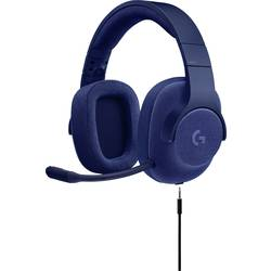 Gaming-headset Logitech Gaming G433 Over Ear Blå