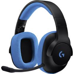 Gaming-headset Logitech Gaming G233 Over Ear Svart, Blå