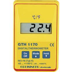 Greisinger Mjerač temperature Kalibriran po DAkkS -65 Do +199.9 °C Tip tipala K