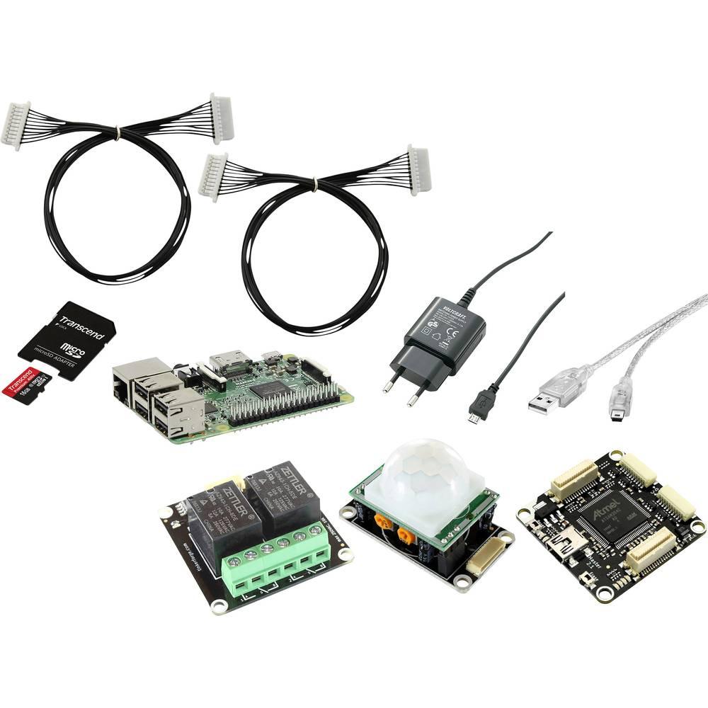 Raspberry Pi® 3 Do-it-Yourself alarmna naprava 1 GB brez operacijskega sistema Renkforce RF-AA