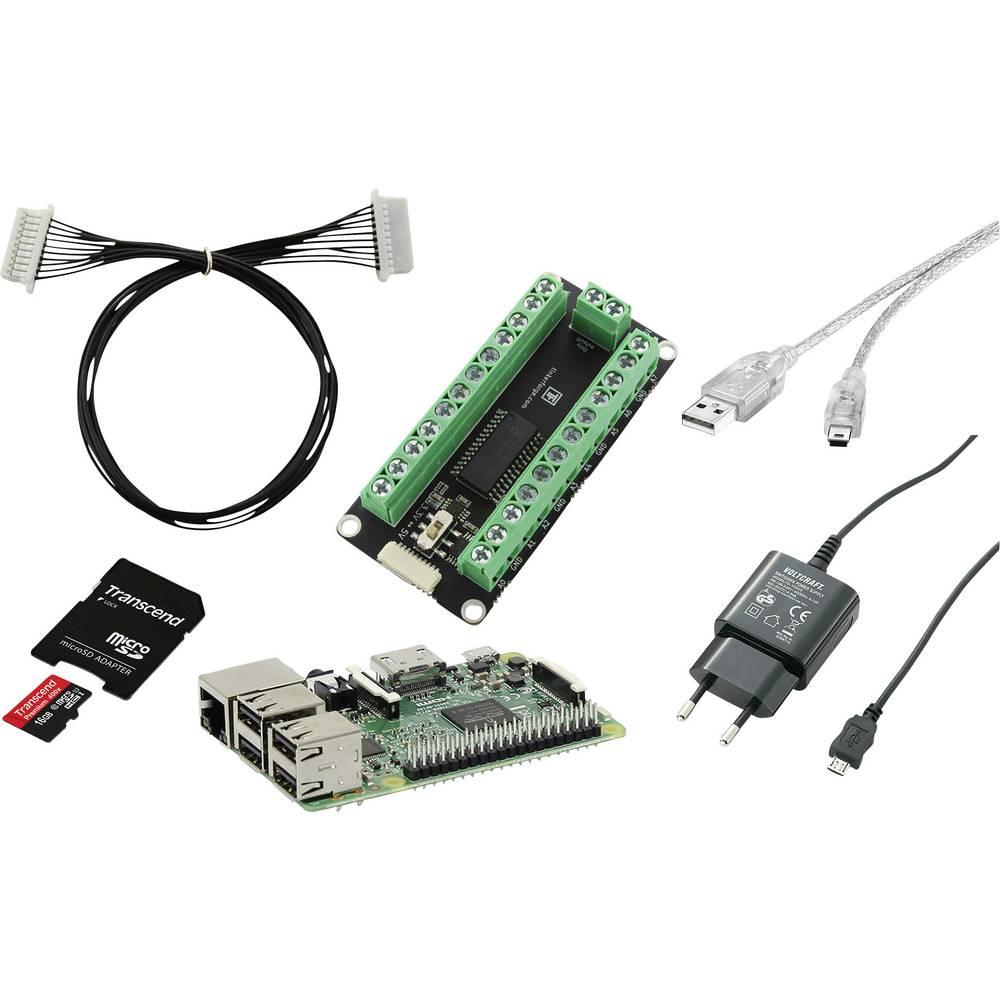 Raspberry Pi® 3 Do-it-Yourself IO-plošča 1 GB brez operacijskega sistema Renkforce RF-IO
