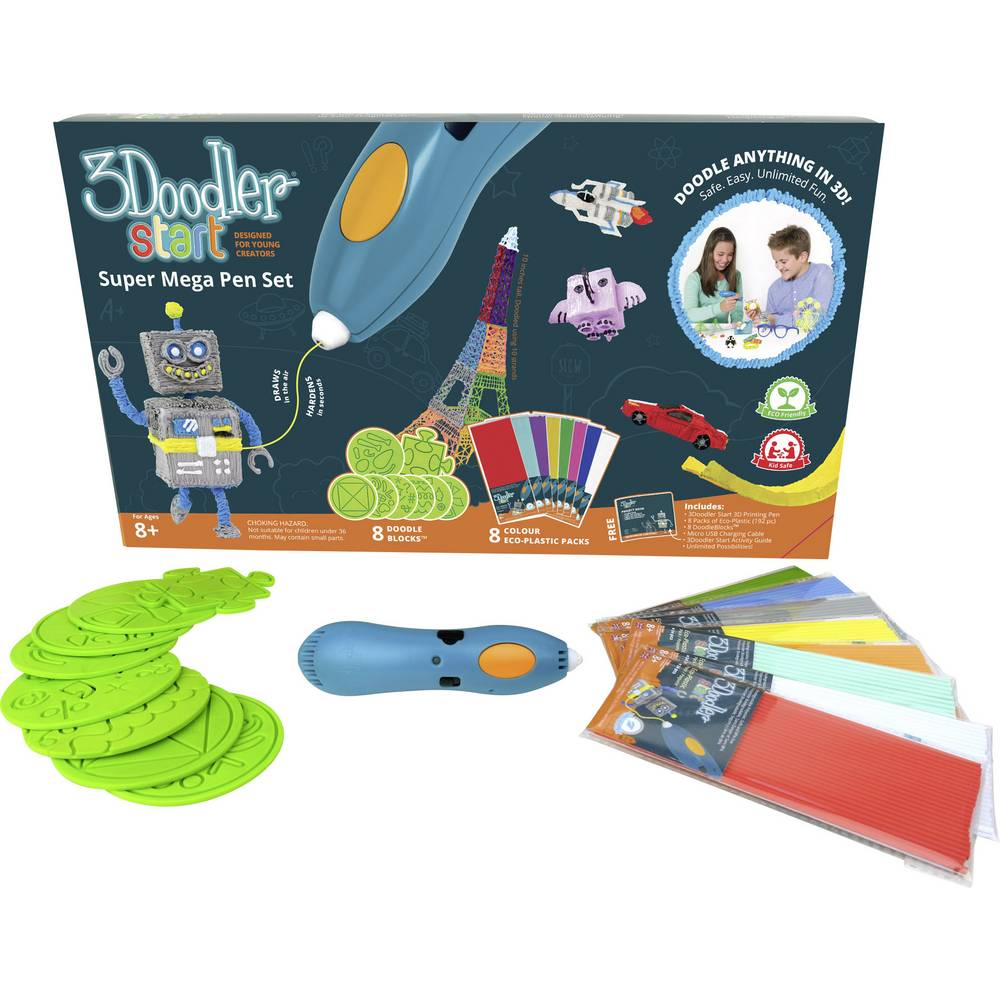 3Doodler START PACK Super Mega Set 3D pisač - olovka