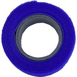 Sprijemalni trak za povezovanje, oprijemni in mehki del (D x Š) 1000 mm x 20 mm modre barve TRU Components 910-131-Bag 1 m