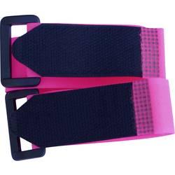 Sprijemalni trak s pasom, oprijemni in mehki del (D x Š) 300 mm x 25 mm vijolične barve TRU Components 688-454-Bag 2 kosa