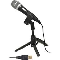USB-mikrofon CAD Audio U1 USB Sladd inkl. stativ, inkl. kabel, Switch