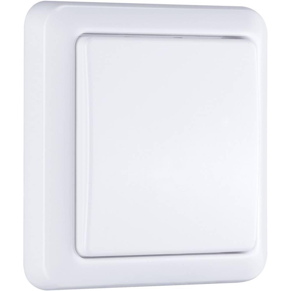 Brezžični stenski oddajnik, bele barve Paulmann 97552