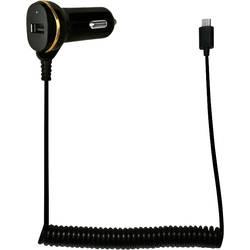 LogiLink USB avtomobilski napajalnik z Micro-USB kablom in USB vhodom maks. tokovna obremenitev=2.1 A