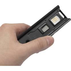 Obrezovalnik SIM kartic Basetech BT-SIMS-AIO prilagodljivo za: Standard SIM, Micro SIM pretvornik iz: Micro SIM, Nano SIM