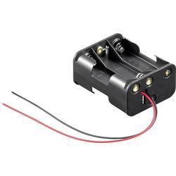 baterije - držač 6x mignon (AA) kabel (D x Š x V) 58 x 47 x 28 mm Goobay 81216