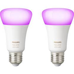 Philips Lighting Hue LED-lampa (2 st) white and color ambiance E27 10 W RGBW 2 st