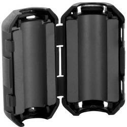 Zložljivo feritno jedro 160 Ω premer kabla (maks.) 9 mm (Ø x V) 19.5 mm x 18 mm TRU Components TC-KFR90 1 kos