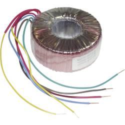 Transformator z obročastim jedrom 1 x 230 V 2 x 18 80 VA 2222 mA TC-RKT80/2X18 TRU Components