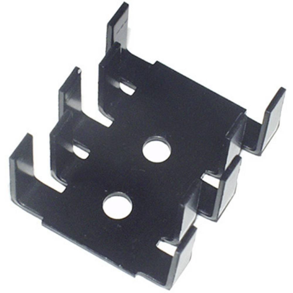 Hladilno telo 15 K/W (D x Š x V) 30 x 25.4 x 12.7 mm TO-220 SOT-32 TRU Components TC-KK5237B