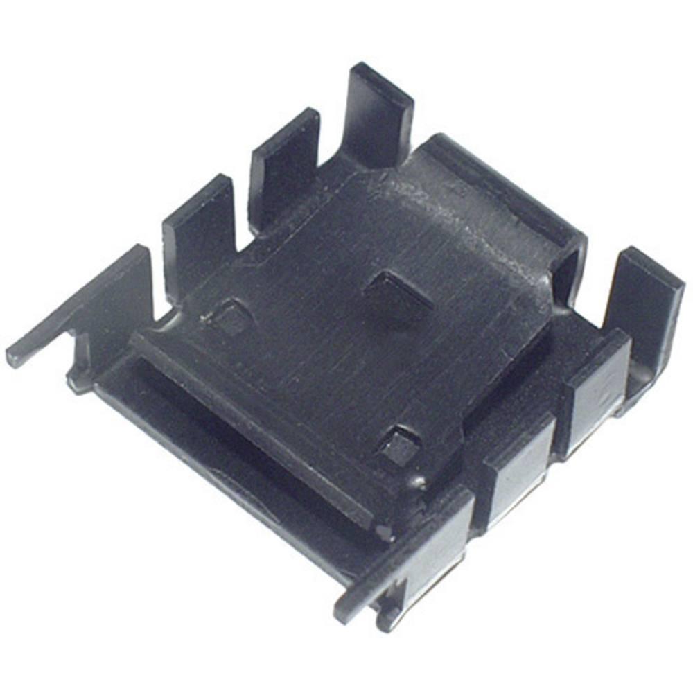 Hladilno telo 18 K/W (D x Š x V) 25.4 x 25 x 8.5 mm TO-220 TRU Components TC-KK8510B