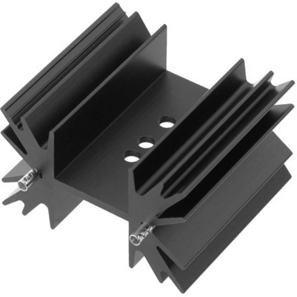 Profilno hladilno telo 8.74 K/W (D x Š x V) 38 x 42 x 25 mm TO-218 TO-220 TOP-3 SOT-32 TRU Components TC-KK833738