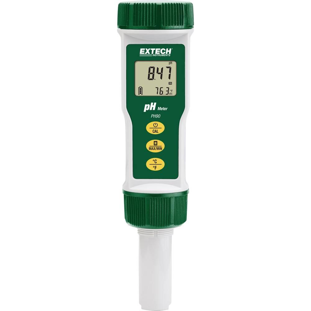 mjerač ph vrijednosti Extech PH90 ph vrijednost, temperatura 0 - 14 pH Kalibriran po tvornički standard (vlastiti)