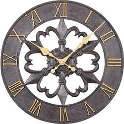 Quarz stenska ura Atlanta Uhren 4445 300 mm črne barve