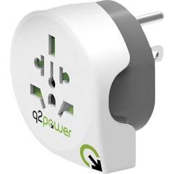 Q2 Power 1.100140 Potovalni adapter Welt nach USA