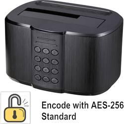 USB 3.0 SATA 1 vhodna priključna postaja za trdi disk Renkforce z varnostnim dostopom