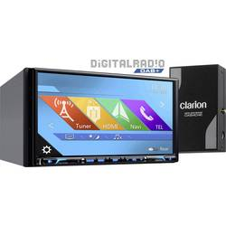Clarion NX807EDAB Navigationsenhed, fastmontering Europa DAB+ tuner, Håndfrit Bluetooth®-system, AppRadio, Integreret navigation