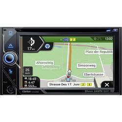 Clarion NX405EC Navigacijska naprava, fiksna vgradnja Evropa Programska oprema za avtodome/tovornjake, Bluetooth® komplet za