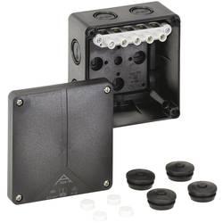 Forbindelsesdåse (L x B x H) 110 x 110 x 67 mm Spelsberg Abox-i 060-6²/sw Sort IP65