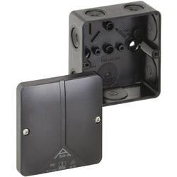 Forbindelsesdåse (L x B x H) 93 x 93 x 55 mm Spelsberg Abox-i 040-L/sw Sort IP65