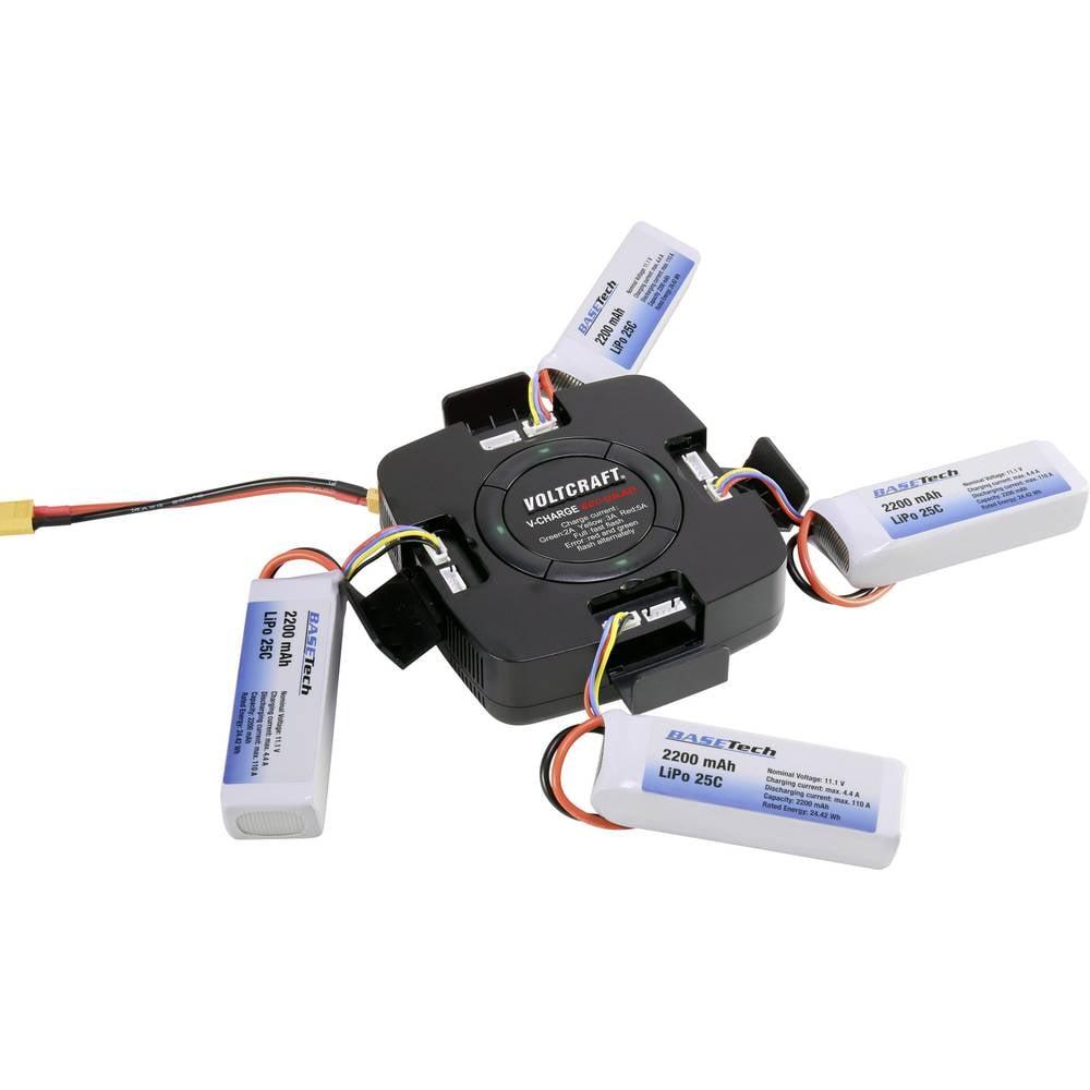 Uređaj za punjenje za modelarstvo 12 V, 32 V 5 A VOLTCRAFT V-Charge Eco Quad LiPo