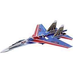 Reely SU27 mikro model letala na daljinsko vodenje, notranja uporaba, komplet za sestavljanje 650 mm