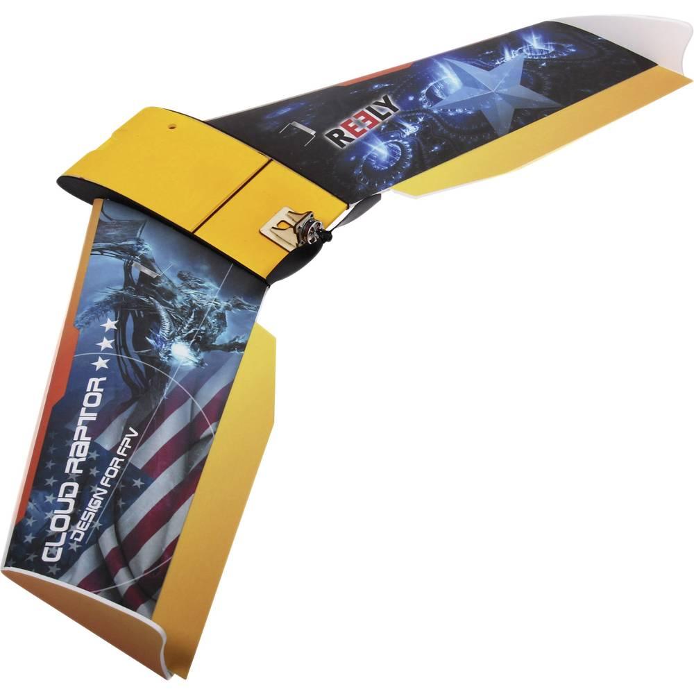 Reely FPV Wing Cloud Raptor mikro model letala na daljinsko vodenje, notranja uporaba, komplet za sestavljanje 1000 mm