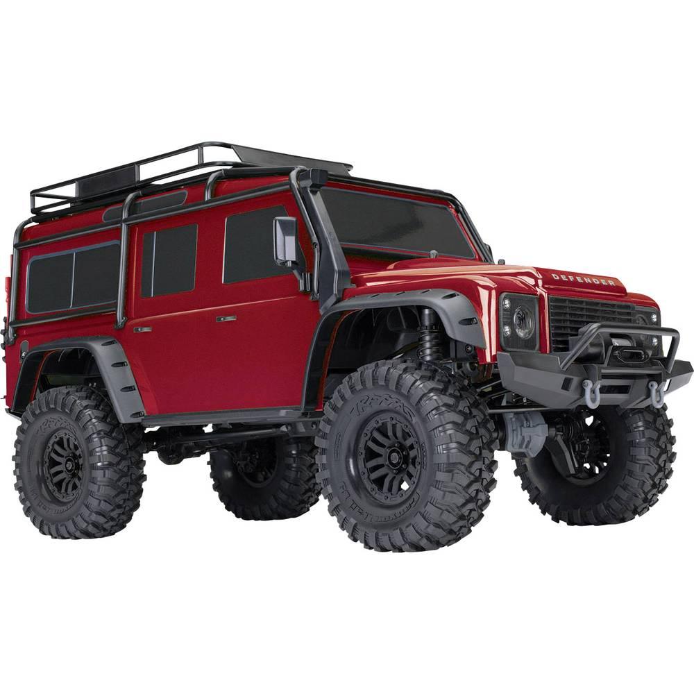 Traxxas Landrover Defender s ščetkami RC Modeli avtomobilov Elektro Crawler 4WD RtR 2,4 GHz