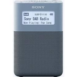 Sony XDR-V20D Radijska ura DAB+, UKW AUX Modra