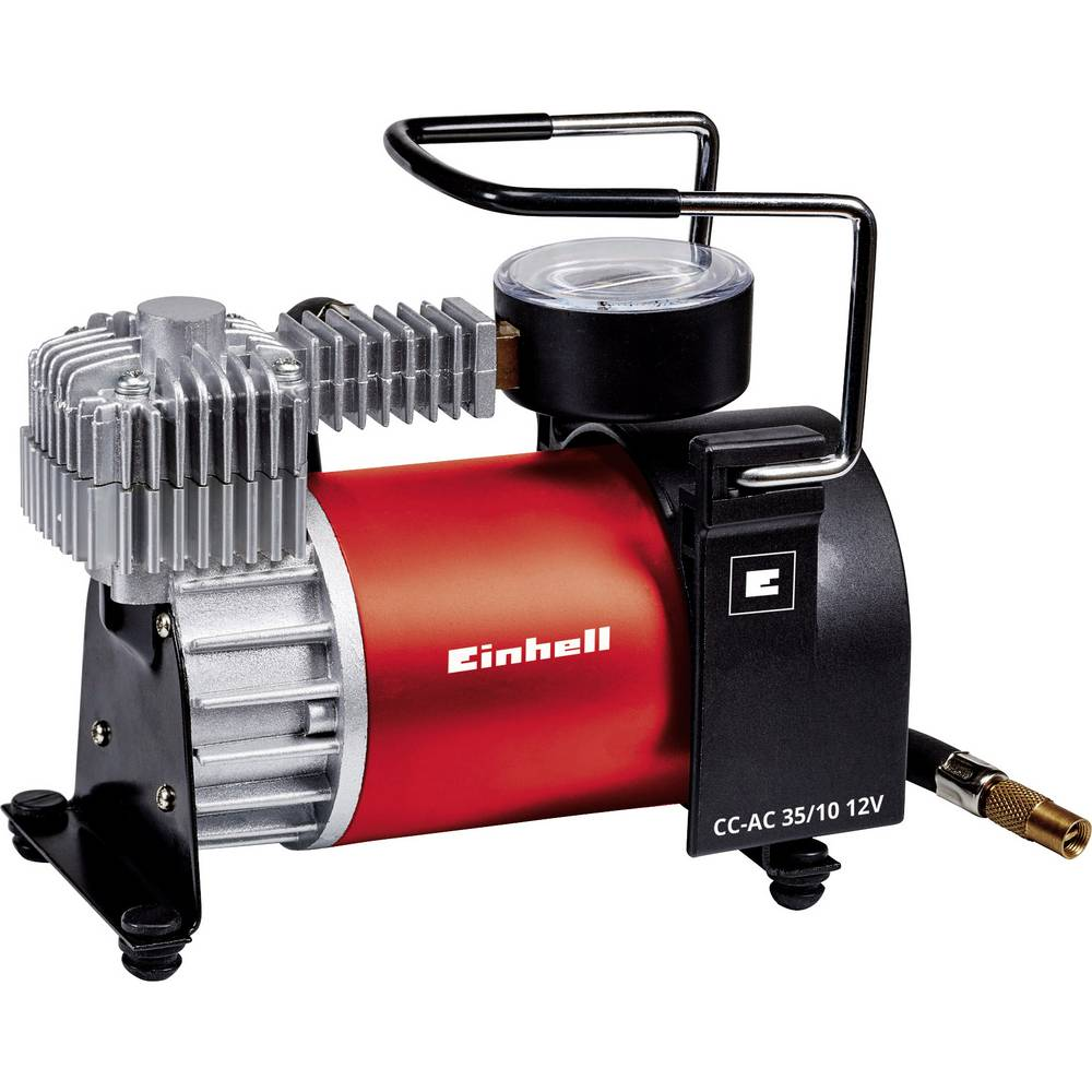 Kompressor 10 bar Einhell 2072121 12 V adapter til drift per kabel