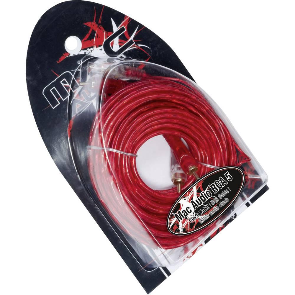 Činč kabel 5 m Mac Audio RCA 5